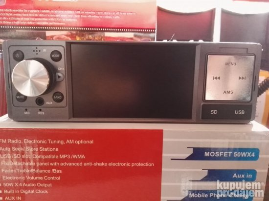 "DVD 3.4"" radio Bluetoo/MP5/USB/SD/MMC"