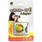 Wi-Fi SD to CF adapter - PCFOTO