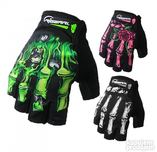 Rigwarl Rukavice Zombie And Skeleton Gloves Model 2 S-XXL