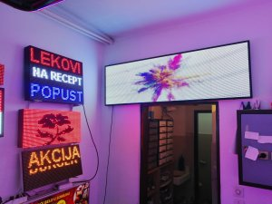 Led reklame u boji -ful color-led-za  spoljnu ugradnju