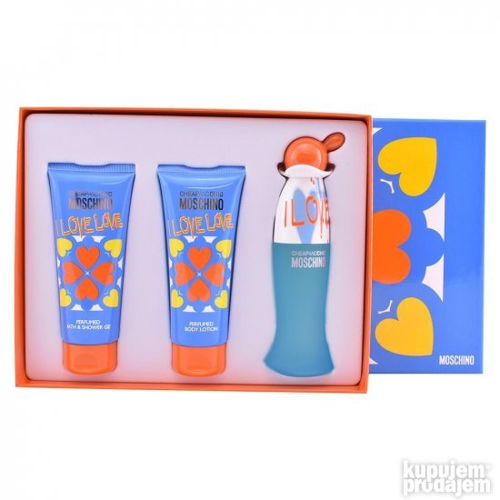 Moschino Cheap and Chic I love edt 50ml + 100mlBL + 100mlSG