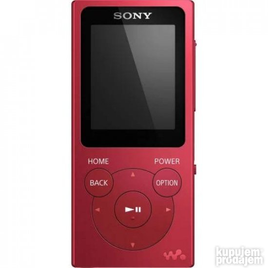 SONY NW-E393 4GB red