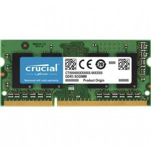 CRUCIAL 8GB Notebook DDR3L 1600MHz CL11 CT102464BF160B