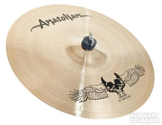Anatolian Ultimate Hell crash 16""