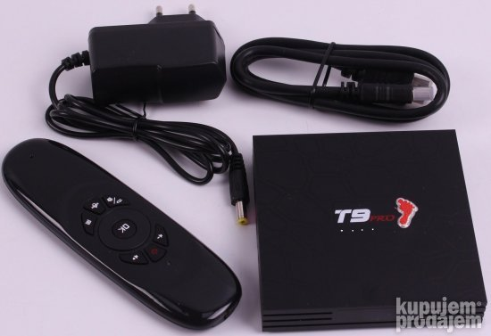 T9PRO AIRMOUSE TV BOX 4/32GB tv box Proveren Tv Box NAJBOLJI