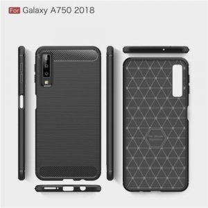 TPU Brushed futrola za Galaxy A7 2018 ( crna )
