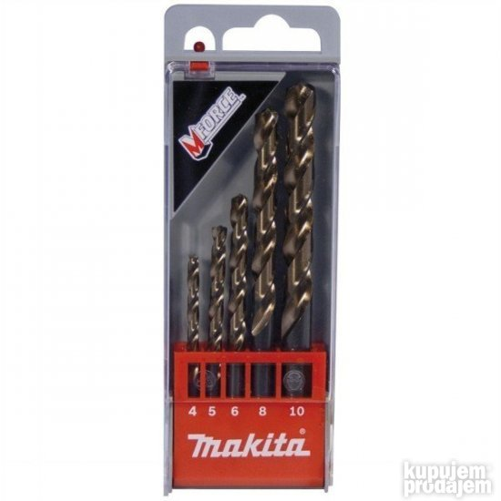 Set HSS burgija za metal D-30508 Makita