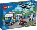 Lego City Police Helicopter Transport 60244  NA STANJU