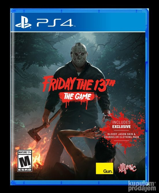 The Friday 13th PS4 / PS5