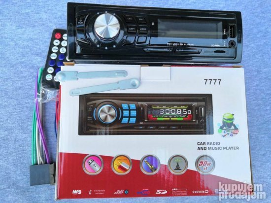 Auto Radio-MP3-USB-SD 2x50W