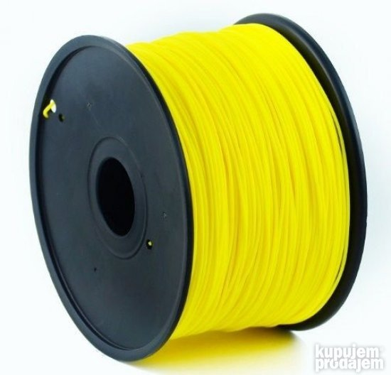 3DP-ABS1.75-01-Y ABS Filament za 3D 1.75mm, kotur 1KG ZUTI
