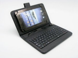 "Uni tablet case Teracell 10"" with keyboard and OTG cable crn"
