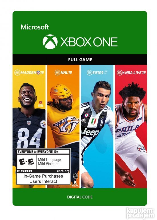 EA SPORTS 19 Bundle Xbox ONE