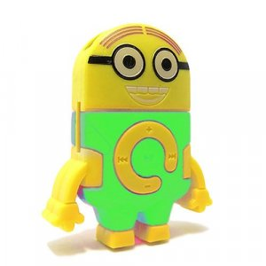Mp3 player DESPICABLE - Zelena