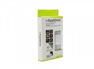 i-FlashDrive Dual Card Reader