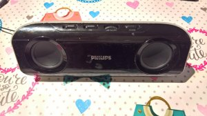 Philips SBA 290 portable speaker system