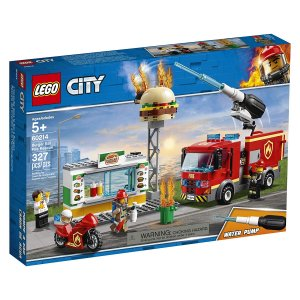 Lego City Burger Bar Fire Rescue 60214