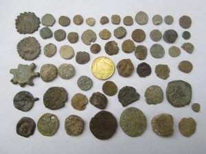 Roman Coins Made of Lead