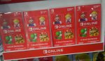 Nintendo Switch Online/eShop Dopune/Gift Wallet Cards EU/US