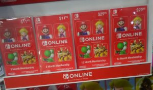 Nintendo Switch Online EU US/eShop Gift Cards/Wallet Dopune