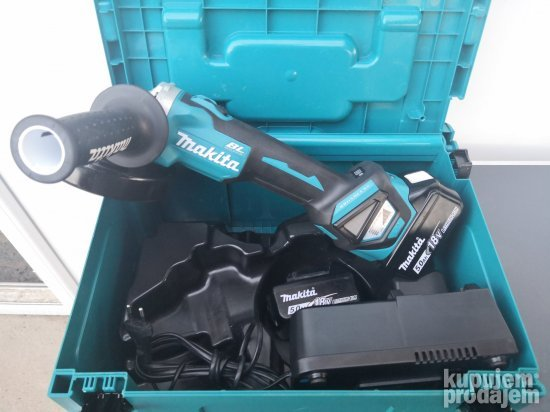 Makita GDA 511 Brushless aku brusilica