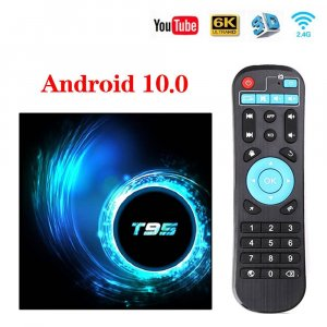 Smart TV Box T95 8/64gb Android 10+KODI
