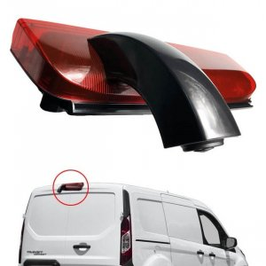 parking kamera - ford transit connect - trece stop svetlo -