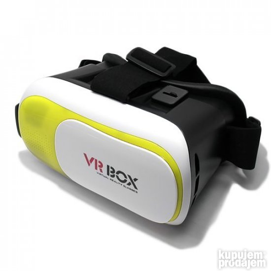 Naocare 3D VR BOX RK3 Plus - Zuta