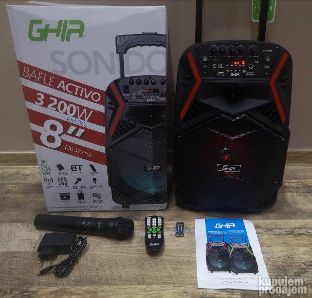 Audio Karaoke Bluetooth Zvucnik Bezicni Mikrofon Ghia 29 07