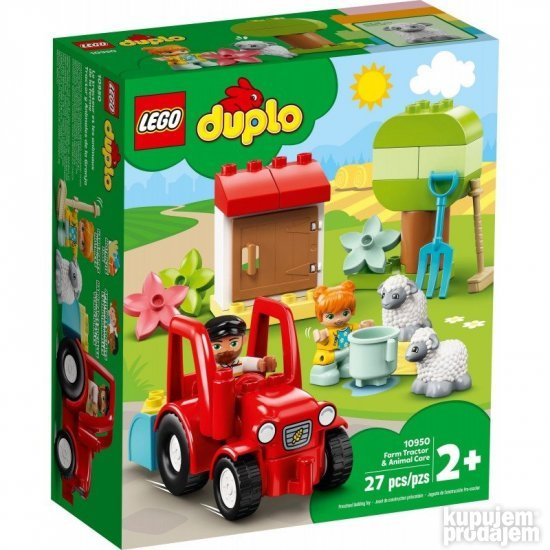Lego Duplo Farm Tractor & Animal Care 10950 NA STANJU