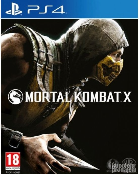 Mortal Kombat X za PS4