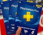 PS Plus+Playstation Plus/Now/PS4 PSN Dopune/Gift Wallet Card