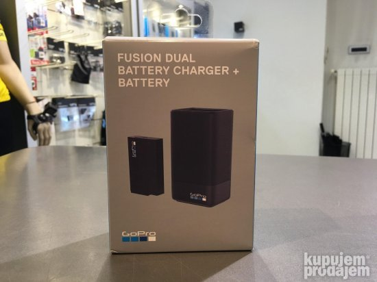 GoPro Fusion Dual Baterry Charger + Battery