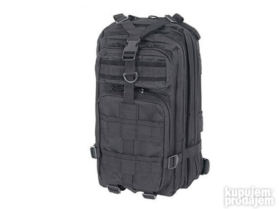 Modular Medium ASSAULT PACK 15 L -Crni [8FIELDS] #311