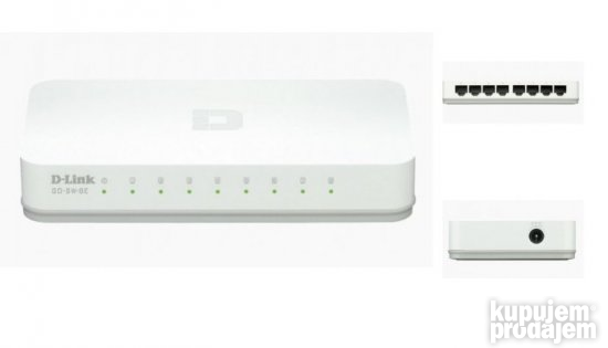D-LINK Dlinkgo GO-SW-8E switch 8 port