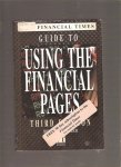Guide to using the financial pages Financial Times