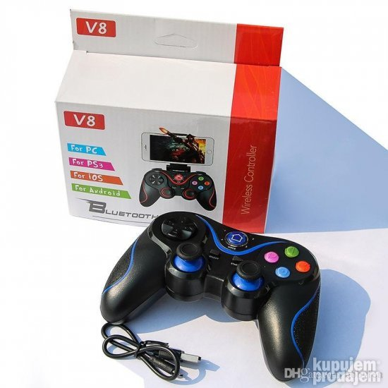 V8 BEŽIČNI DŽOJSTIK- Wireless GamePad - Bluetooth
