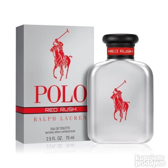 Ralph Lauren Polo Red Rush edt - 125ml tstr