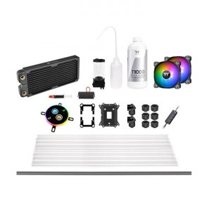 THERMALTAKE Pacific C240 ​​hard tube water cooling kit