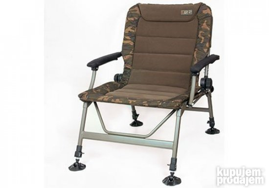 Fox R2 camo recliner chair stolica za pecanje