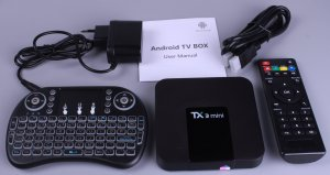 TX3 TV Box sa Svetlecom Tastaturom Android TV Box TX3 TV BOX