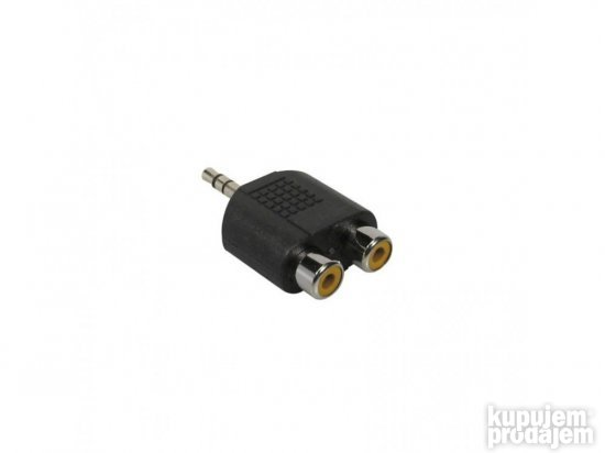 Boston AT-128 adapter,Duo Rca female -3,5 jack male stereo
