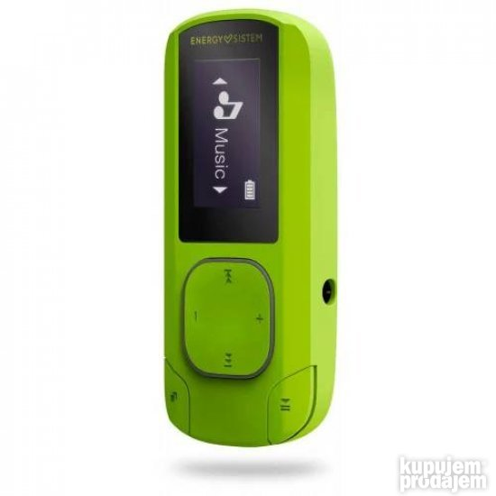 ENERGY SISTEM MP3 Clip BT Sport Green kozet