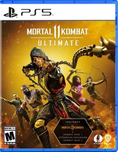 Mortal Kombat X + Mortal Kombat 11 Ultimate PS4 / PS5