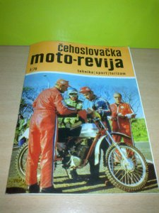 Čehoslovačka MOTO-REVIJA ,1976.god