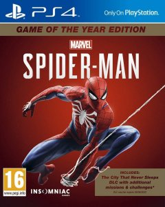 Spiderman GOTY Edition PS4