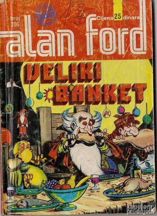 Alan Ford 286 Veliki banket
