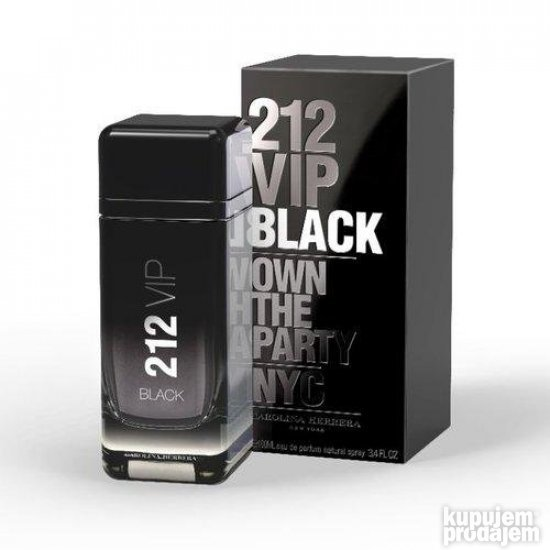 Carolina Herrera 212 VIP Black men edp - 50ml