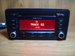 Audi a3 2008god cd radio chorus-Fabricki