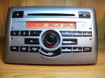 Fiat stilo cd radio sivi panel